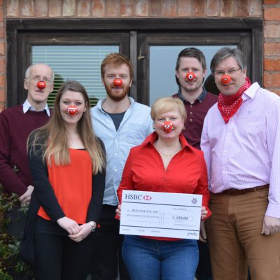 JMDA fundraise for Red Nose Day