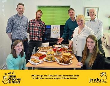 JMDA Bake Off for Children In Need
