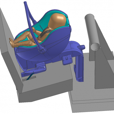ESI Prototyping of Child Car Seats