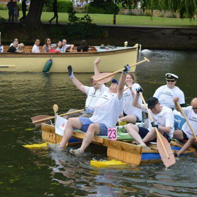 JMDA participate in charity raft race
