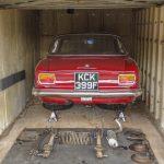 Tom Warrender refurbishes classic car