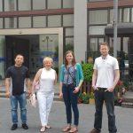 Team visit to China