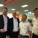 Team visit K&J tradefair in Cologne