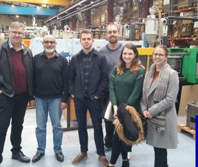 JMDA staff visit Firstpress based in Birmingham