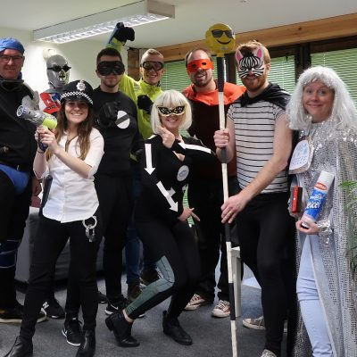 JMDA donned fancy dress costumes and pledge their support of Brake's road safety week campaign