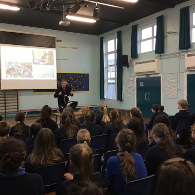 JMDA inspire local school with exciting design project