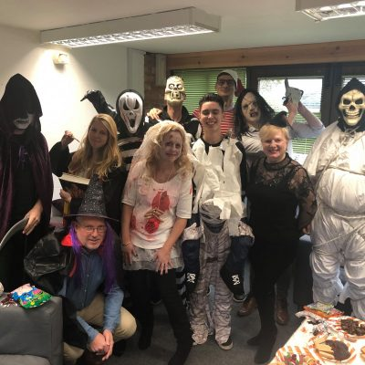 Halloween Party fundraising for RoSPA