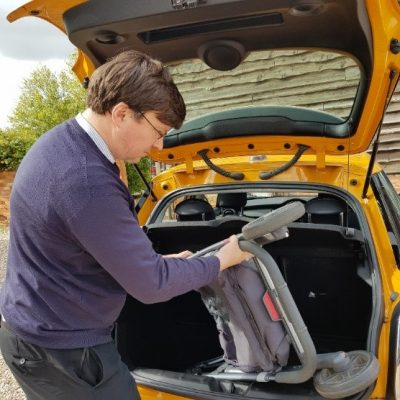Vehicle bootspace fitting